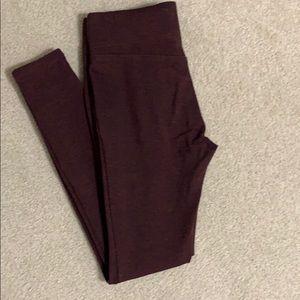 LOFT Pants - LOFT heathered leggings. Size S.